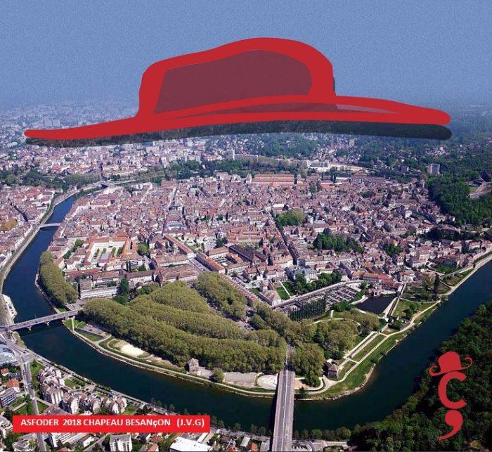 CHAPEAU BESANÇON 21 juin 2018 Solstice d'été : Besançon devrait se couvrir d'un chapeau  Posté Dr VAN LANDUYT Hervé Asfoder 2018